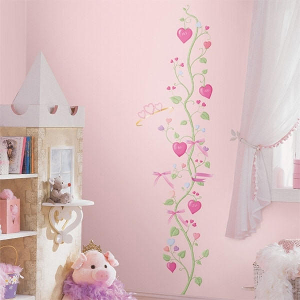 Baby Room Wall Décor Ideas Tips For Careful Parents: Shop Fairy Princess Growth Chart Peel & Stick Wall Decal