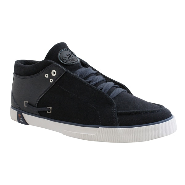 GBX Men's Navy Suede Sneakers