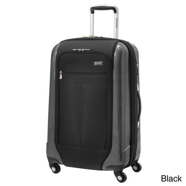 Ricardo Beverly Hills Crystal City 24-inch Expandable Spinner Hybrid Suitcase