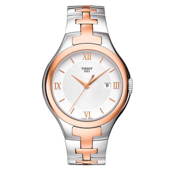 Tissot Women's 'T12' Stainless Steel Watch
