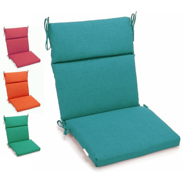 Shop Blazing Needles 3 Section Indoor Outdoor Chair Cushion 45 X