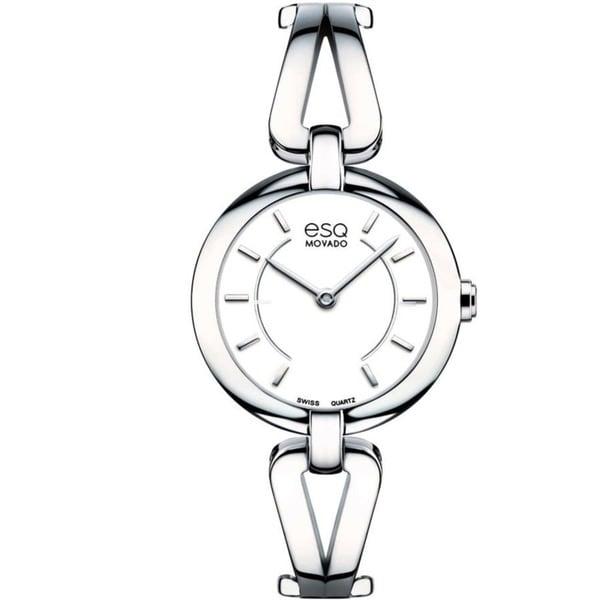Movado 'ESQ Corbel' Women's Stainless Steel Watch