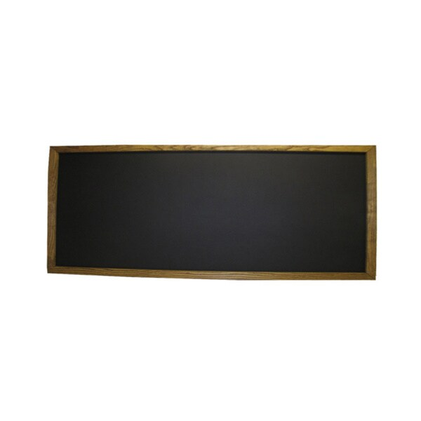 Shop Framed Chalkboard (2\' x 5\') - Free Shipping Today - Overstock ...