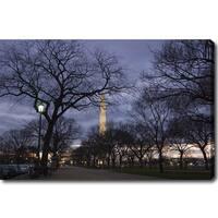 'The Washington Monument' Canvas Art