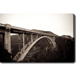 'Bridge of Big Sur' Canvas Art