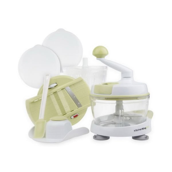 Kitchen King Pro K16690 11-piece Green Food Preparation Station