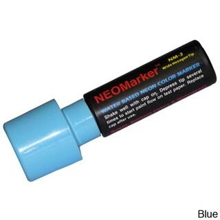NEOPlex Waterproof Extra-large Tip Marker (Option: Blue)