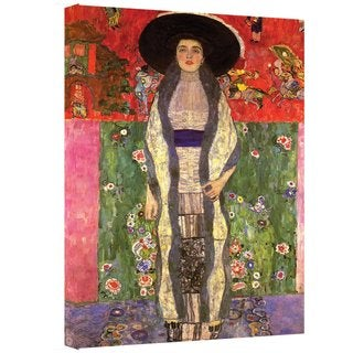 Gustav Klimt 'Adele Bloch Bauer' Gallery-wrapped Canvas Art
