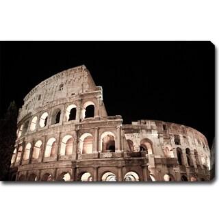 'The Colosseum' Canvas Art