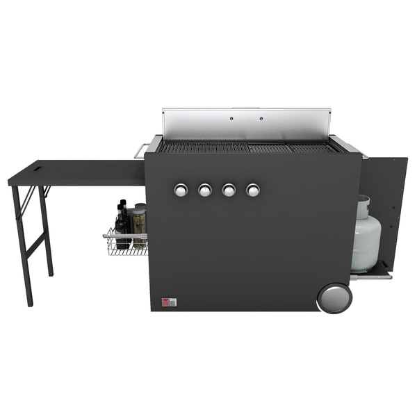 EcoQue HotBox Gas Grill