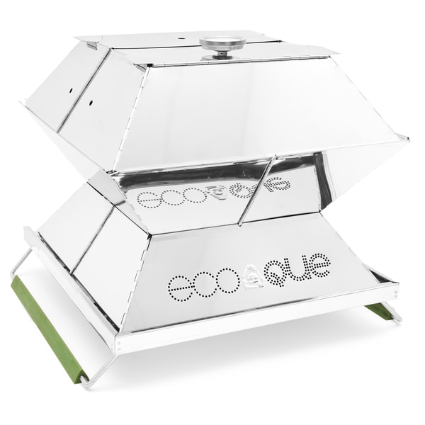 EcoQue 15-inch Portable Stainless Steel Grill