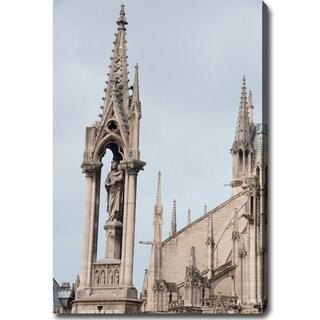 'Notre Dame de Paris' Canvas Art