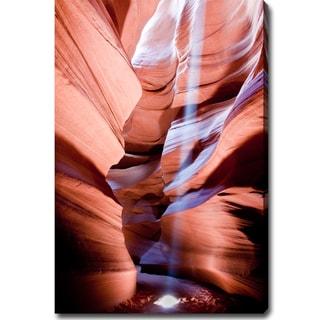 Large 'The Amazing Antelope Canyon' Canvas Art