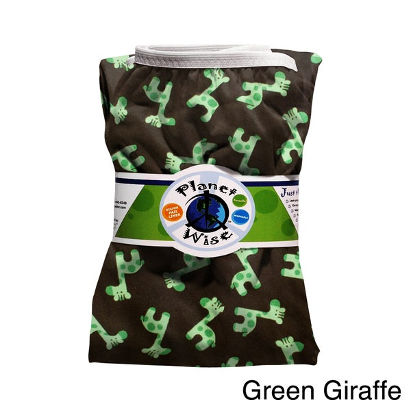 Planet Wise Giraffe Reusable Diaper Pail Liner
