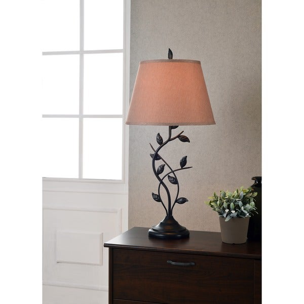 Curino bronze table lamp free shipping today overstock for Cirrus bronze floor lamp
