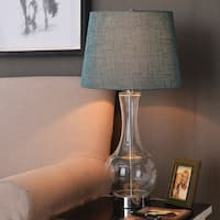 Design Craft Rory 28-inch Table Lamp - Blown Glass Finish