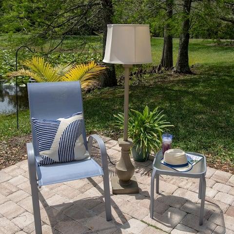 Fonyo Coquina 58-inch Outdoor Floor Lamp