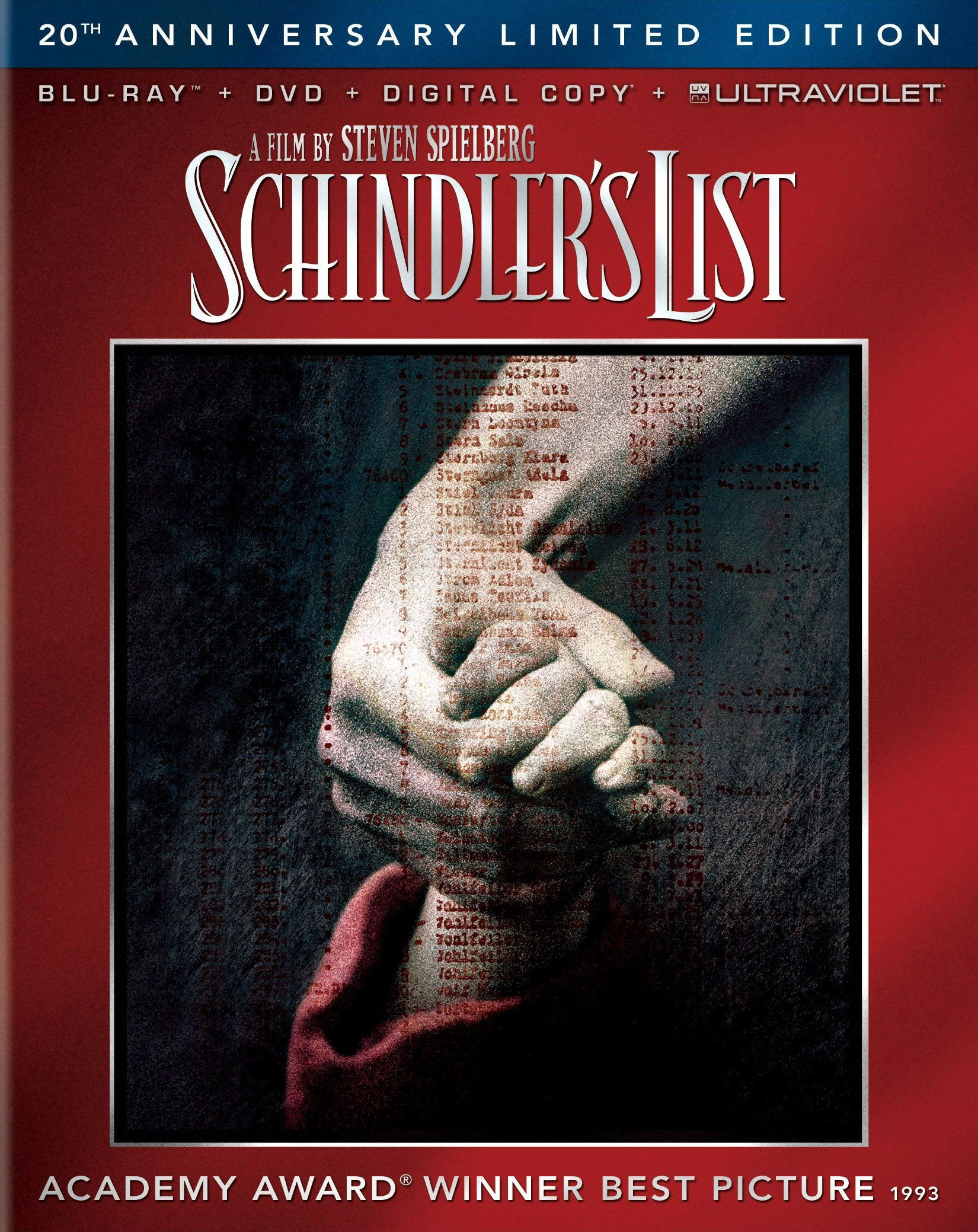 Schindler's List (20th Anniversary Edition) (Blu-ray/DVD)