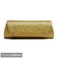 J. Furmani Glitter Embellished Evening Clutch