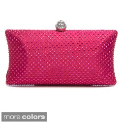 J. Furmani Women's Jewel Studded Hardcase Clutch