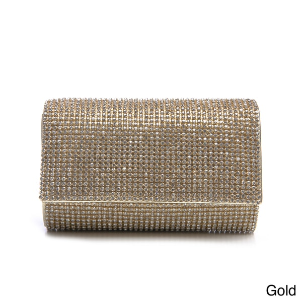 J. Furmani Women's Crystal Embellished Clutch