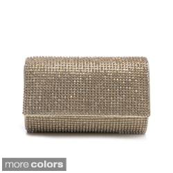 J. Furmani Women's Crystal Embellished Clutch