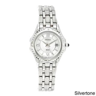 Seiko Women's 'Le Grand Sport' White Dial Watch