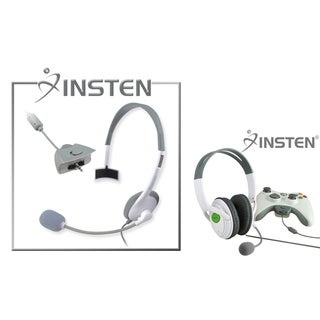 INSTEN Headset/ Microphone Headset for Microsoft xBox 360/ 360 Slim