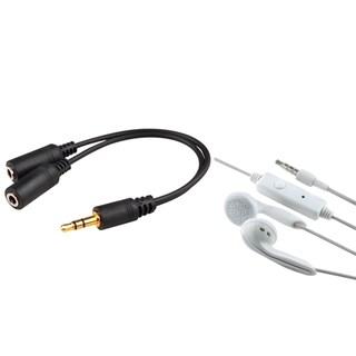 INSTEN Splitter/ Headset for Apple iPhone 4/ 4S