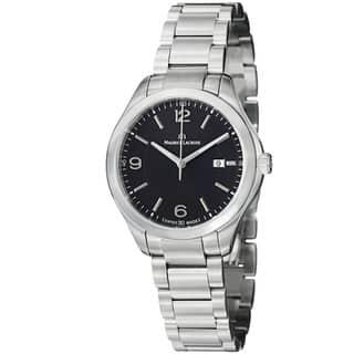 Maurice Lacroix Women's MI1014-SS002-330 'Miros' Black Dial Stainless Steel Watch https://ak1.ostkcdn.com/images/products/7654452/7654452/Maurice-Lacroix-Womens-Miros-Black-Dial-Stainless-Steel-Watch-P15069074.jpeg?impolicy=medium
