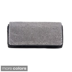 J. Furmani Crystal Panel Clutch