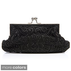 J. Furmani Women's Beaded and Embroidred Evening Bag (3 options available)