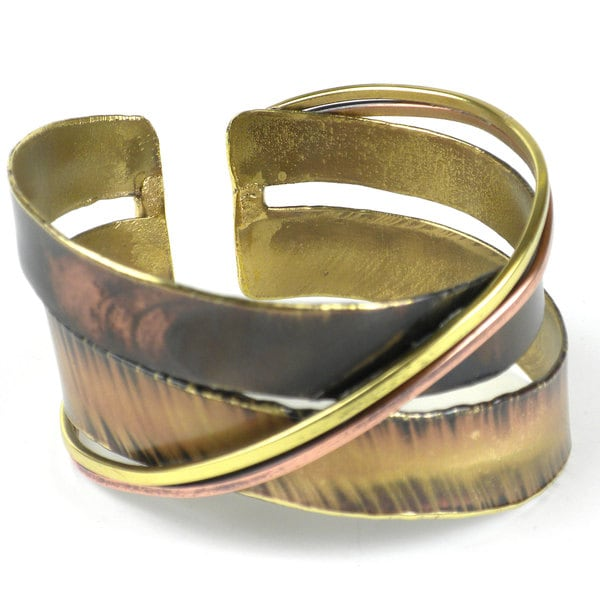 Handcrafted Chance Meeting Cuff (South Africa)