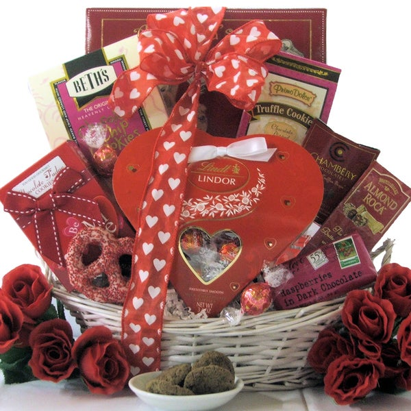 Great Arrivals Sweet Devotion Day Sweets Gift Basket