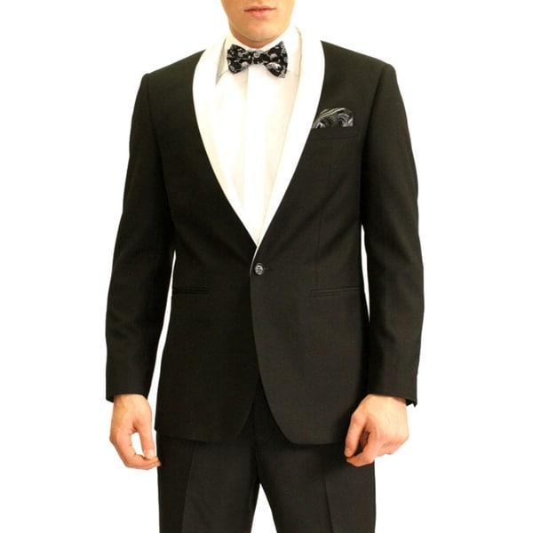 Ferrecci Men's Slim Fit Tuxedo Dinner Jacket