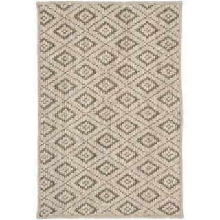 Safavieh Diamonds Taupe Sisal Wool Rug (3' x 5')