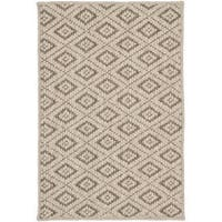 Safavieh Diamonds Taupe Sisal Wool Rug - 3' x 5'