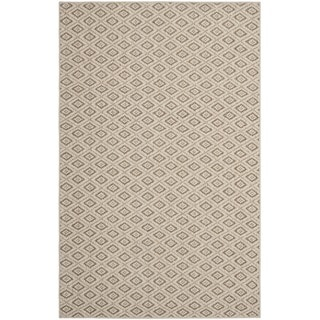 Safavieh Diamonds Taupe Sisal Wool Rug (8' x 11')