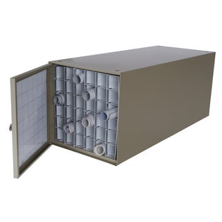 Stackable Steel 36-compartment Rolled Document File