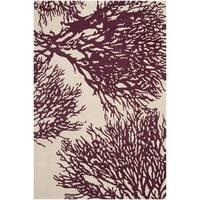 Safavieh Handmade Bella Beige Wool and Viscose Rug - 8' x 10'