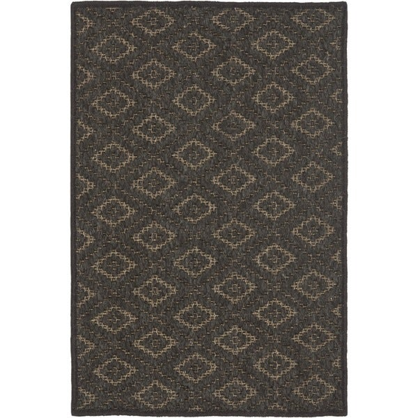 Safavieh Diamonds Brown Sisal Wool Rug (3' x 5')