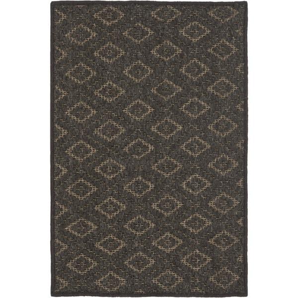 Safavieh Diamonds Brown Sisal Wool Rug - 3' x 5'