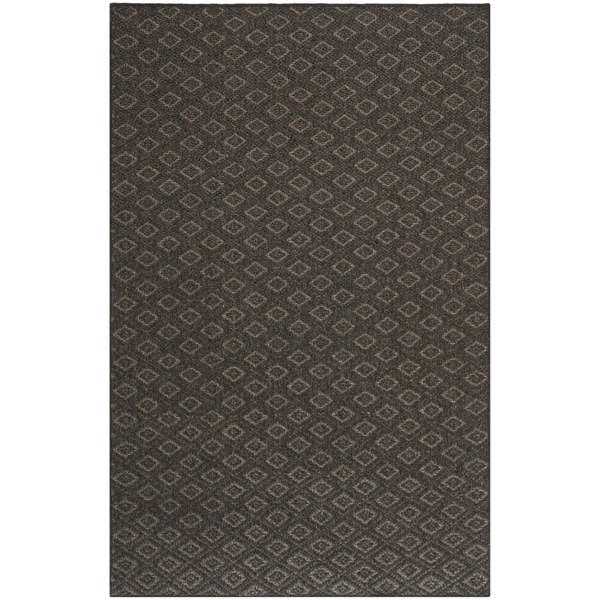 Safavieh Diamonds Brown Sisal Wool Rug 8 X 11 Free