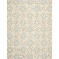 Safavieh Hand-Hooked Four Seasons Ivory Floral Polyester Rug - 8' x 10'