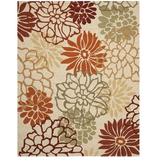 Safavieh Hand-Hooked Four Seasons Beige/ Multicolored Rug (8' x 10')