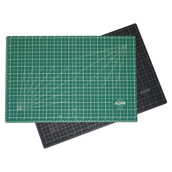 Adir Self-healing Reversible Green/ Black Cutting Mat (12 x 18)