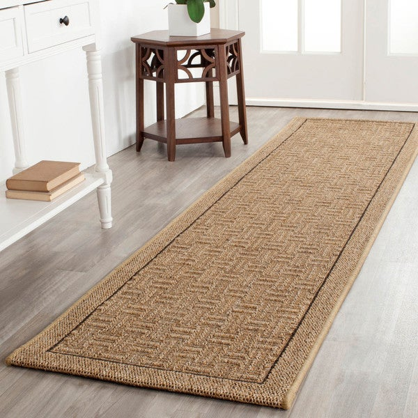 Safavieh Palm Beach Natural Sisa Runner Rug (2' x 8')