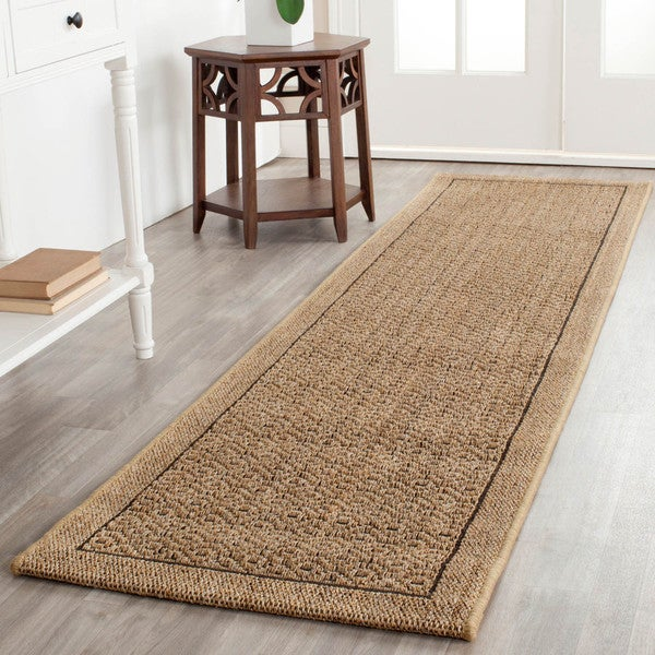 Safavieh Palm Beach Natural Sisal Rug (2' x 8')
