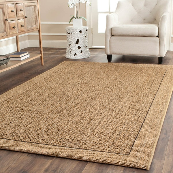 Safavieh palm beach natural sisal rug 8 39 x 11 39 free shipping today overstock 15069528 Home goods palm beach gardens