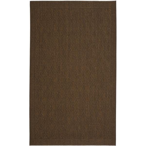 Safavieh Palm Beach Chocolate Brown Sisal Rug - 8' x 11'